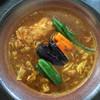 ふらのや - 料理写真:やわらか骨付きチキン&道産野菜スープカレー