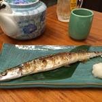 かぶら亭 - 秋刀魚の塩焼き