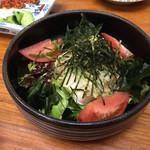 かぶら亭 - 豆腐サラダ
