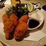 ナカスダイニング - 広島産牡蠣フライ