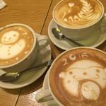 Bunibuni - 2015年12月 お料理+300円で飲み物セットのカフェラテ