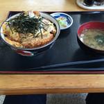 食創庵 - カツ丼