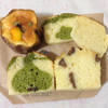 toi toi toi* - 料理写真:南瓜のチーズケーキ、抹茶ケーキと栗のケーキ と嬉しい切れ端のおまけ