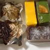 パガニーニ - 料理写真:モンブラン2種類、抹茶、オペラ、チーズケーキ