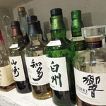 創作串揚 つだ - サントリーのウイスキーたち。知多は、愛知県知多市のもの