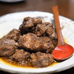 虎穴 - スペアリブの黒豆蒸し
