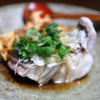 虎穴 - 料理写真:ヤイトハタの蒸し物
