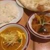 ネパール キャンドル キッチン - 料理写真:ポークカレー、ライス、野菜カレー、ナン