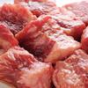焼肉ホルモン やしち - 料理写真:脂の旨みと赤味旨い