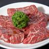 焼肉ホルモン やしち - 料理写真:豪快に厚切りサガリは柔らかく、ジューシー