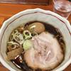 誠や - 料理写真:醤油らーめん小盛\750 煮玉子\100