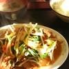 栄楽 - 料理写真:レバー野菜炒め定食 800円