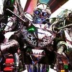 45993506 - 巨大ロボットがお出迎え!