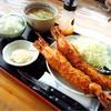 シャンシャン茶屋 - 料理写真:究極の大きな海老フライ