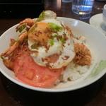 ハワイアンカフェ フラ・ラ 2 - 料理写真:ロコモコガーリックシュリンプ(ランチセット)
