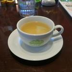 ハワイアンカフェ フラ・ラ 2 - 料理写真:ランチセットのスープ