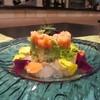 MAMMA - 料理写真:ホタテ、サーモンアボカドのタルタル 蛤のジュレ キャビア添え