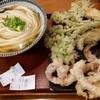 釜う - 料理写真:冷かけと天ぷらたち