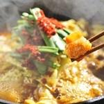焼肉の龍園 - ホルモン鍋