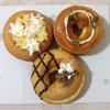 mille ciel - 料理写真:お芋とホイップのドーナツと南瓜クリームのドーナツ2種類