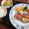 パルケ デ マキ - 料理写真:Aランチの鶏むね肉の塩糀漬け焼ベーコン添え 770円