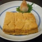 そば竹野 - 卵焼き