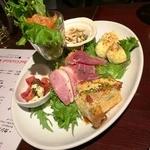 南森町ロマンチック食堂 - 前菜