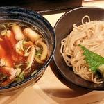 46029581 - 大和肉鶏蒸篭風つけ麺2015