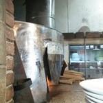 ラ・ベファーナ - 薪窯で約70~90秒
