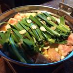 モッツバー隆 - モツ鍋