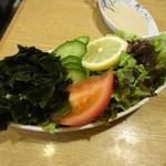 ちゃんこ 友路 - 生野菜:700円