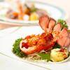 景山 - 料理写真:オマール海老 2種の味わい