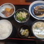 よし村 - サバの味噌煮定食\680