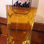 焼肉レストラン 鶴松 - 生ビール(大)