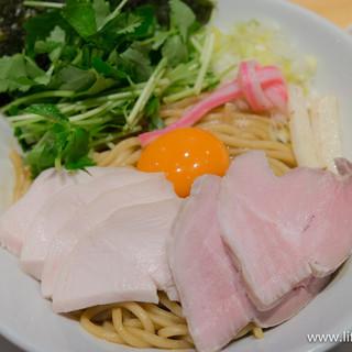 むぎとオリーブ - 料理写真:特製 濃厚卵のまぜSOBA【2015年12月】