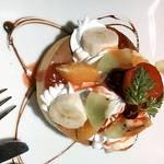 ベビーフェイスプラネッツ - 料理写真:フルーツパンケーキ