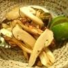 島津 - 料理写真:松茸とアワビ