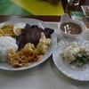 ロディオグリル - 料理写真:ガーリック風味牛のイチボ1500円