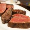 裏参道牛肉店 - 料理写真:4種部位ビフテキ定食