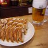 大阪王将 - 料理写真:餃子&ビール~☆