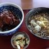 串焼き えどや - 料理写真:豚丼(ミニそば付き 温)850円