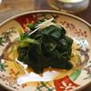 和食晴ル - 料理写真:ほうれん草のおひたし