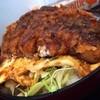せいざん荘 食堂 - 料理写真:柳津式ソースかつ丼