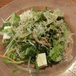 陽に吹かれ - 豆腐とシラスの和風サラダ