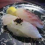 かね喜廻鮮寿司 - 料理写真:真鯛