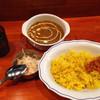 シルクロード - 料理写真:日替わりカレー590円、本日はひよこ豆のカレーです