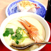 無添くら寿司 - 料理写真:カニ入り茶碗蒸し♡⃛*‧˚(๑˃̶ॢ⌄ᵒ̴̶̷ॢ๑)カニのほぐし身まで入っててアツアツで200円‼︎たまらん♡♡♡♡