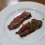 ステーキハウスそむり - 豊後牛たたき