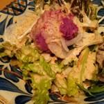 金魚すさび - 1512_金魚hanare_0自家製紅芋ポテトサラダ