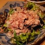金魚すさび - 1512_金魚hanare_1.沖縄島もずくとパパヤーサラダ